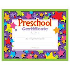 free preschool certificates preschool certificates pack of 30 buy online see