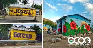 Arte Político invade casitas en La Vuelta de la Paloma   Ocoaenred