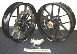 carrozzeria forged supermoto wheel kit honda crf450 carrozzeria