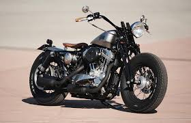 harley sportster bobber by l a motorcycles bike exif