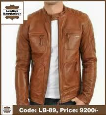 biker desh genuine leather jacket