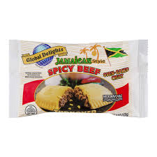 jamaican style y beef turnover