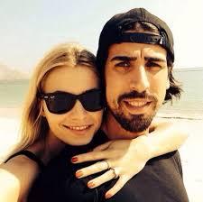 Lena Gercke with sexy, charming, Boyfriend Sami Khedira
