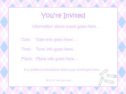 baby shower invitation templates microsoft word info template baby shower invitation template