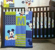 mickey mouse crib sheet set disney baby infant boys 4 piece mickey mouse crib bedding set