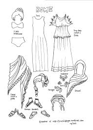 Ancient Roman Hair Style paper dolls of ancient history ancient rome rome and dolls 3346 by wearticles.com