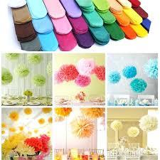 Crepe Paper Flower Balls Paper Flower Balls Wedding Birthday Party Home Decor Tissue