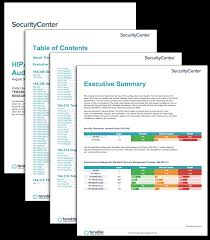 Template Audit Report Hipaa Configuration Audit Summary Sc Report Template Tenable