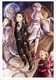 re zero art book anime calendar 2018 12 pages 8 x11 re zero kara