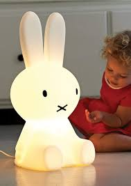 Dick Bruna Led Lamp With Dimmer Miffy Xl 20 Inches Polyethylene