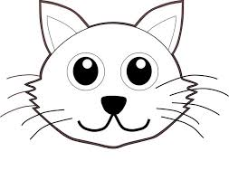 cat face clipart. Modren Cat Cat Face Letters Kitten Pertaining To Throughout Face Clipart A
