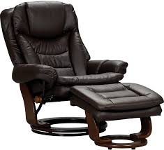 luxury leather recliner chairs. the flynn brown chair is luxurious in both comfort and style! with multiple reclining positions luxury leather recliner chairs l
