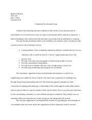 community involement essay why is community service important to me teen ink
