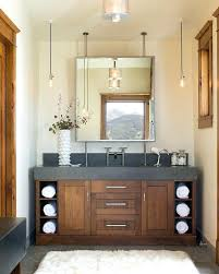 Rustic Modern Bathroom Vanity Bathrooms Bath Intended For Plan 4