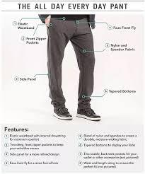 Mack Weldon Size Chart Public Rec Apparel Sweat Pants At Work