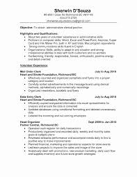 Sample Resume With No Experience Fresh Resume Sales Associate No