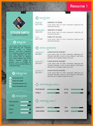 7 Graphic Designer Cv Templates Applicationleter Com
