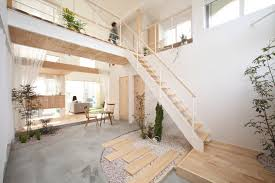 Japanese office design Scandinavian Alts Design Office Kofunaki House Small House Bliss Modern Japanese Ecovillage House Brings Nature Inside Literally