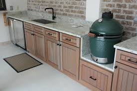 outdoor kitchen cabinets home depot outdoor kitchen with plenty of prep space cabinets are