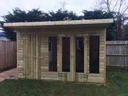 14 x 8ft wooden garden summer house