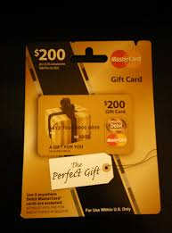 mastercard gift cards can also be cashedout