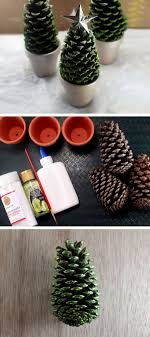 Pine Cone Christmas Decorations Festive Diy Pine Cone Crafts For Your Holiday Decoration For