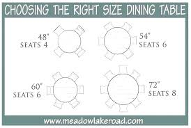 round table seats 6 dining table size for 6 round chairs what seats room sizes per round table seats 6