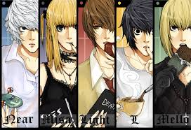 Anime death note characters