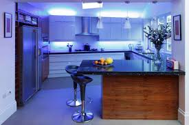 white kitchen lighting. Kitchen:Luxury Lighting Kitchen Decor With Round Modern Island And White Cabinet .