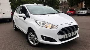 ford fiesta zetec hatchback petrol in white 2018 image 0