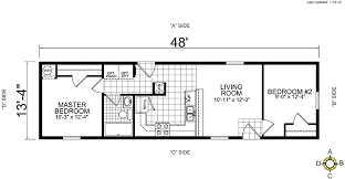 single wide mobile home floor plans.  Mobile Single Wide Mobile Home Floor Plans 2 Bedroom To S
