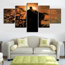 Paintings For Living Room Decor Popular Batman Wall Art Buy Cheap Batman Wall Art Lots From China