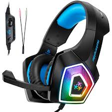 Ebay India Led Lights Details About V1 Professional Led Light Gaming Headset Noise Cancelling Headphones With Mic