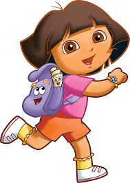cartoon characters dora png