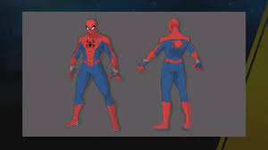 Though he was a massive letdown in the film, his physical appearance rocked. A Miraculous Jammer Concept Art Of Spider Man Spider Gwen Miles And