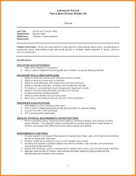 9 Resume For Teacher Assistant Forklift Resume