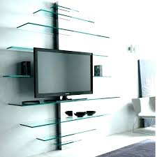 attractive wall mount stands q7647090 wall mount tv stand with glass shelves classic wall mount stands