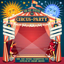 Free Carnival Themed Flyer Template Circus Flyer Template Download