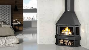 Bronpi Lorca-R Corner Wood Burning Stove ...