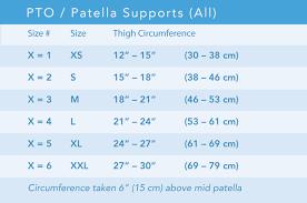 Pto Chart Pto Soft Knee Brace Breg Inc