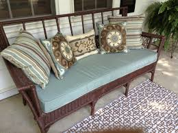 Wicker Settee Cushions Is Solutions Relax You — Home and Space Decor