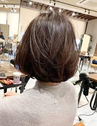 ママさんのお手入れ簡単ショートボブom 204 ヘアカタログ髪型