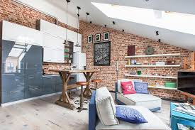 View in gallery Small loft apartment in Danilovskaya Manufactory, Moscow