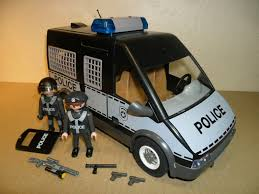 Playmobil City Action Police Van With Lights And Sound 6043 Playmobil 6043 City Life Police Riot Van With Lights Sounds