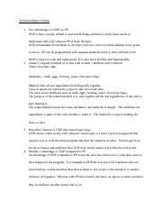 Technical Paper Outline Technical Paper Outline 1 Two Advantages