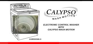 whirlpool calypso washer. Plain Calypso Whirlpool Calypso Washer Repair Guide  ApplianceAssistantcom   Intended A