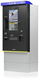 Phone For Cash Vending Machine Stunning Automatic Payment Kiosk SMARTCASH 'VENDING' SKIDATA