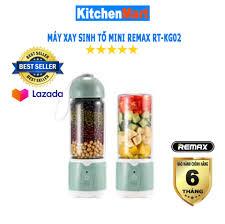 Máy Xay Sinh Tố cầm tay mini Remax RT-KG02 (Hàng chính hãng - Bảo hành 6  tháng) - KitchenMart