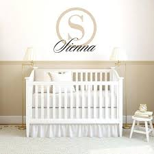 baby nursery baby name stickers for nursery custom decal urban walls boy wall uk
