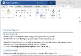 persuasive speech elevator speech template for delivering a short s pitch